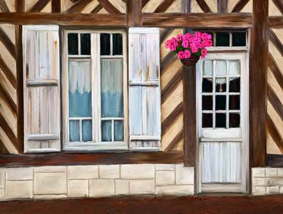 Windows and Door, Normandy