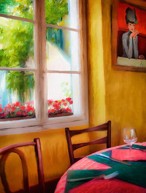 Restaurant, Giverny